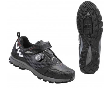 NORTHWAVE MISSION PLUS - scarpe MTB/trekking black