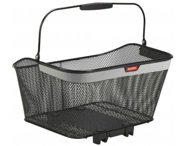 KLICKfix CITY KORB REFLECT rear bicycle basket for racktime racks black