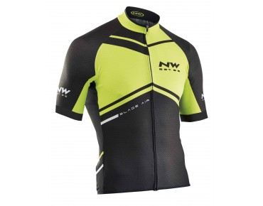 NORTHWAVE BLADE AIR Trikot yellow fluo/black