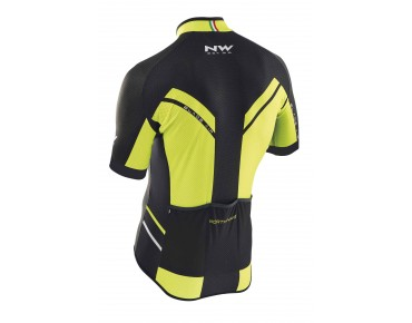 NORTHWAVE BLADE AIR jersey yellow fluo/black
