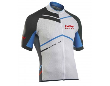 NORTHWAVE BLADE AIR jersey white/black