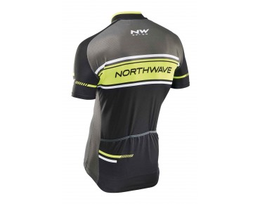NORTHWAVE LOGO 2 jersey black/yellow fluo