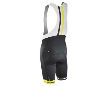 NORTHWAVE LOGO 2 Trägerhose black/yellow fluo