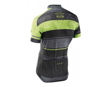 NORTHWAVE STRIPES jersey black/green fluo