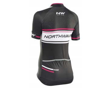 NORTHWAVE LOGO 2 women's jersey black-white