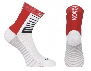 NORTHWAVE SONIC Socken white/red