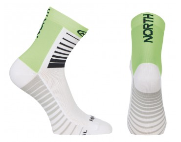 NORTHWAVE SONIC Socken white/green fluo