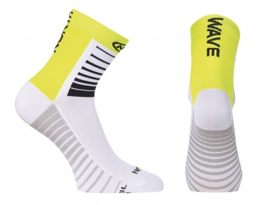 NORTHWAVE SONIC Socken white/yellow fluo