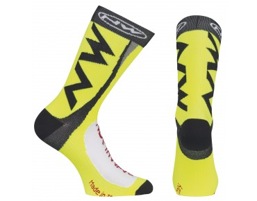 NORTHWAVE EXTREME TECH PLUS socks yellow fluo