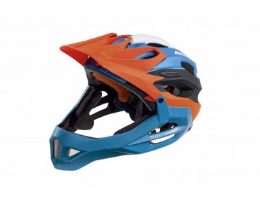 ALPINA KING CARAPAX enduro helmet orange blue