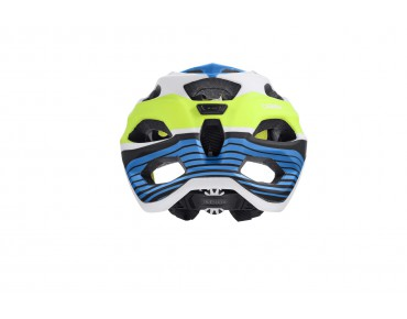 ALPINA CARAPAX - casco MTB blue/white/yellow