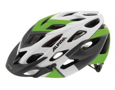 ALPINA D-ALTO L.E. MTB helmet white/black/green