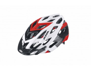 ALPINA D-ALTO MTB-helm white/black/red