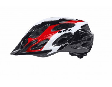 ALPINA MYTHOS MTB helmet black/white/red