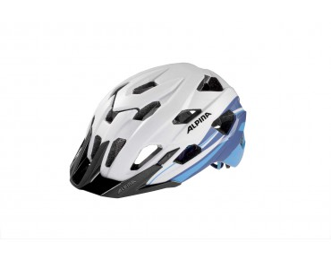 ALPINA YEDON LE - casco white/blue