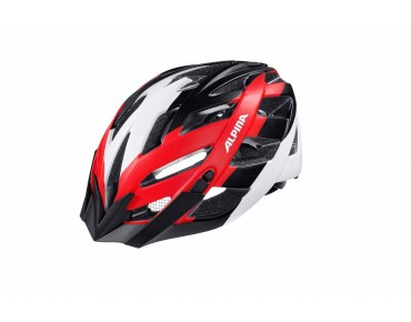 ALPINA PANOMA LE Helm black/white/red