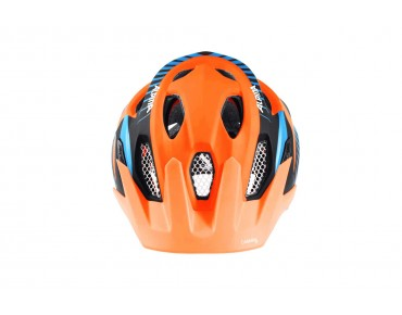 ALPINA CARAPAX JR. kids' helmet orange/black/blue