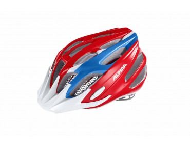 ALPINA FB JUNIOR 2.0 kids' helmet red/blue/white
