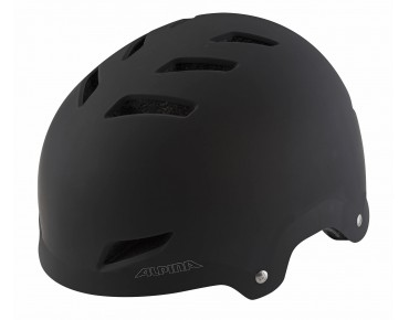 ALPINA PARK JR. kids' helmet black matt