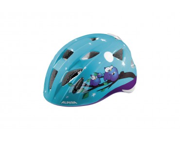 ALPINA XIMO FLASH kids' helmet owls