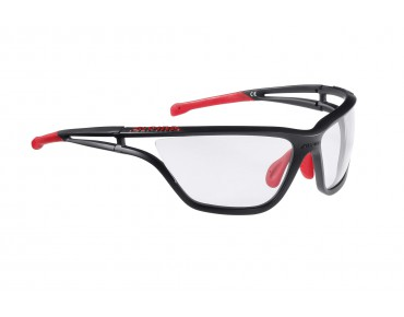 ALPINA EYE 5 VL+ sports glasses black matt-red/varioflex +