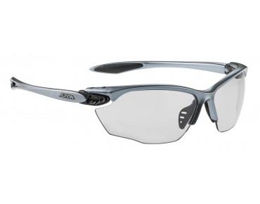 ALPINA TWIST FOUR VL+ sports glasses tin-black/varioflex + balck