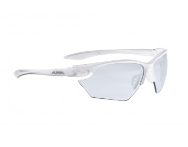 ALPINA TWIST FOUR VL+ S sports glasses white/varioflex+black