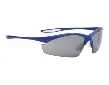 ALPINA TRI EFFECT sports glasses blue/mirror black