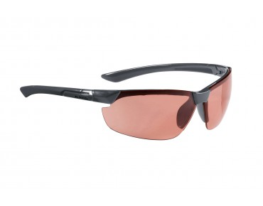 ALPINA DRAFF sports glasses anthracite/orange mirror