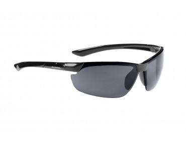 ALPINA DRAFF sports glasses black/black mirror