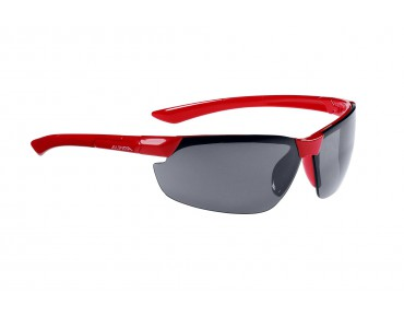 ALPINA DRAFF sports glasses red/black