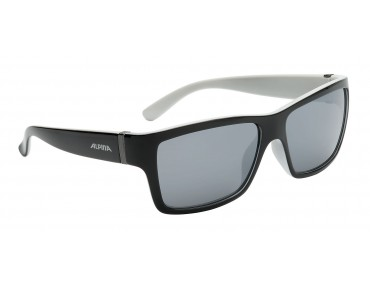 ALPINA KACEY glasses black matt-white/ black mirror