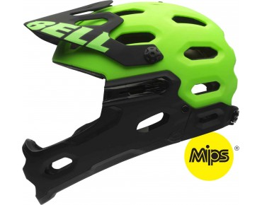 BELL SUPER 2R Enduro Helm inkl. MIPS matte kryptonite
