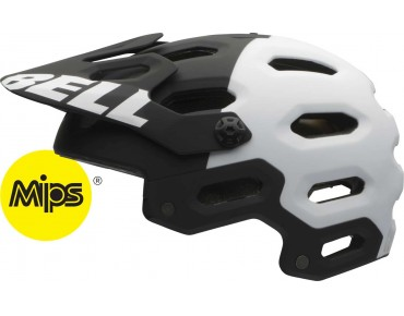 BELL SUPER 2 MTB helmet incl. MIPS matte black/white aggression