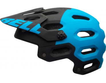 BELL SUPER 2 - casco MTB matte black/blue aggression