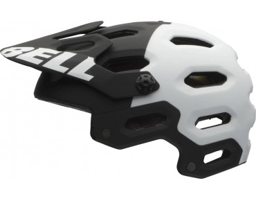 BELL SUPER 2 - casco MTB matte black/white aggression