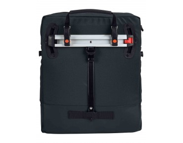 CYCLIST BAG shoulder bag black