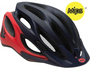 BELL COAST with MIPS - casco donna matte midnight/infrared repose