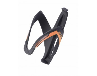 Elite Custom Race bottle cage schwarz/orange