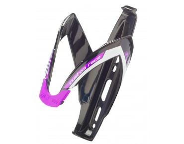 Elite Custom Race bottle cage schwarz/violett
