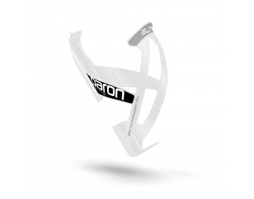 Elite Paron Race bottle cage white/black