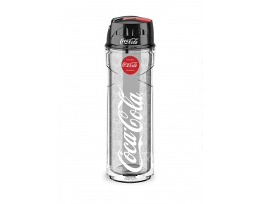 Elite Vero insulated drinks bottle 500 ml Coca Cola Smoke
