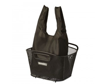 BASIL KEEP SHOPPER shopping bag black