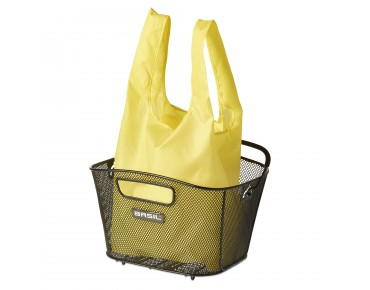 BASIL KEEP SHOPPER shopping bag neon yellow