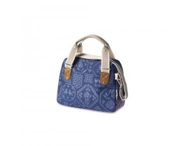BASIL BOHEME CITY BAG women's bicycle bag incl. adapter plate indigo
