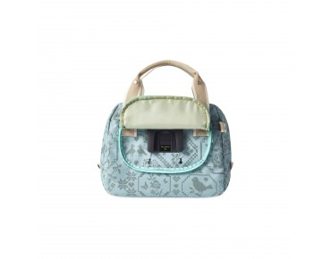 BASIL BOHEME CITY BAG women's bicycle bag incl. adapter plate jade