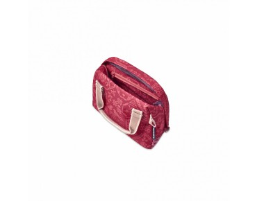 BASIL BOHEME CITY BAG Damen-Fahrradtasche inkl. Adapterplatte vintage red