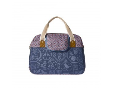 BASIL BOHEME CARRY ALL BAG - borsa bici per donna indigo