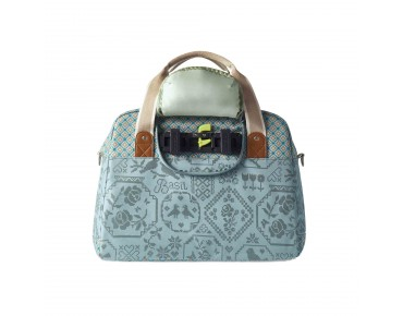 BASIL BOHEME CARRY ALL BAG - borsa bici per donna jade