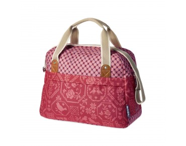 BASIL BOHEME CARRY ALL BAG Damen-Fahrradtasche vintage red
